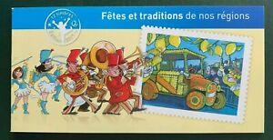 Carnet timbres France neuf 2011 YT C578. Fêtes et traditions de nos régions