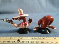 1987 Who Framed Roger Rabbit Portable Holes Pvc Figure Smartguy Weasel Suction