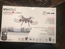VIVITAR AERO VIEW VIDEO DRONE GPS RETURN HOME REAL TIME VIEW HD CAMERA FOLLOW ME