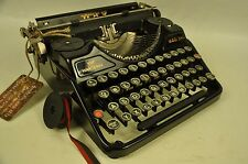 COLLECTIBLE TYPEWRITER CONTINENTAL PORTABLE - NO RISK WITH SHIPPING