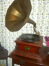 More details for his masters voice gramophone plus vintage table