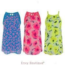 Hip Length Tops & Shirts Leopard Blouses for Women