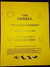 Extremely Rare Complete Ophiel'S Correspondence Courses All The Lessons!
