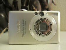 Canon PowerShot Digital ELPH SD600 / Digital IXUS 60 6.0MP  - Silver