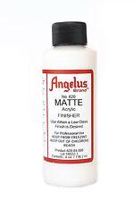 Angelus Brand Acrylic Leather Paint Mate Finisher No. 620 - 4oz