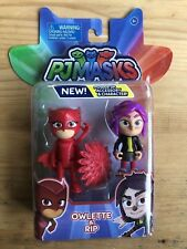 PJ Masks Owlette and Rip Figures New