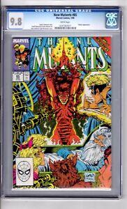 New Mutants #85 CGC 9.8 W/P 'App..VULTURE Liefeld /McFarlane C&A