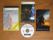 Halo 3 Promo-Xbox 360 (PROMOTIONAL COPY) komplette Spiel & Poster