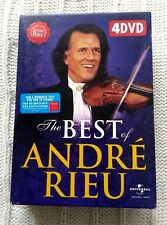 THE BEST OF ANDRE RIEU – DVD, 4-DISC BOX SET, R-ALL, LIKE NEW, FREE SHIPPING