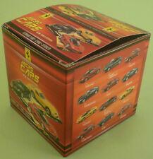 Micro Cars 2015 FERRARI empty box scatola vuota 1/100 Kyosho Mondo Fabbri Italy