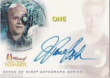 STAR TREK WOMEN OF VOYAGER SA7 J. PAUL BOEHMER ONE DRONE AUTOGRAPH