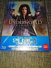 Underworld 4: Awakening Blu-Ray Korea J-Card Steelbook New & Sealed - 500 Only+
