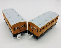 Annie & Clarabel Train Express Coaches Thomas Friends Trackmaster Motorized TOMY
