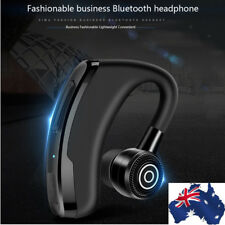 AU Bluetooth Headset Handsfree Wireless Earpiece Noise Reduction Earbud With Mic