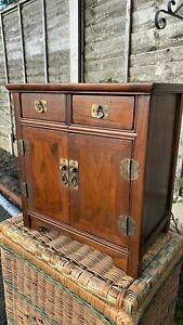 Beautiful Vintage Apprentice Piece Small Wooden Cupboard (C1)