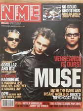 NME New Musical Express 10/11/01 Muse, Natalie Imbruglia, OPM, Electroclash