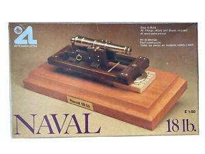 2 X Wood And Brass 18lb and 24lb Naval Gun Kits