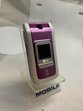 LG U880 - Pink White (Unlocked ) Mobile Phone