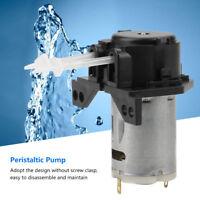 DC 12V/24V Dosing Pump Peristaltic Tube Head for Aquarium Lab Chemical Analysis