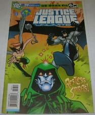 JUSTICE LEAGUE UNLIMITED #37 (DC Comics 2007) BATMAN & SPECTRE (FN/VF) RARE