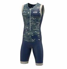 Kona Assault Triathlon Race Suit - Navy Camo