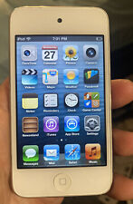 Apple Ipod Touch 4th Generation 8GB White Working Nice