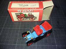 Ancienne Voiture miniature Rami JMK Double phaeton Lion Peugeot 1908 TBE - boite