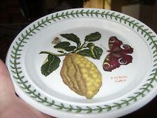 "PORTMEIRION BOTANIC GARDEN CITRON (Citrus) 7 3/8"" B&B/SIDE PLATE RARE VGC+BUYNOW"