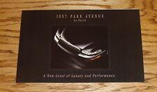 Original 1997 Buick Park Avenue Foldout Sales Brochure 97