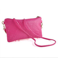Women Chic Shoulder Bags Messenger Bag PU Leather Crossbody Bags Satchel Handbag