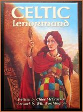 Celtic Lenormand Deck and Book Set Cards Pagan Wicca Fortune-Telling Oracle