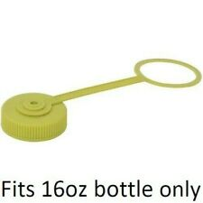 New (1) Nalgene Bottle Replacement Cap, Wide Mouth, Small 16 oz, Green