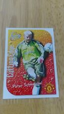 Manchester United Futera 1999 Fans Selection Cutting Edge Embossed Card CE3