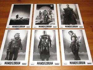 STAR WARS The Mandalorian RARE PRESS PHOTO SET of 40 B&W Stills BABY YODA Child