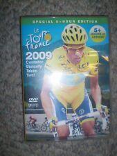2009 Tour De France World Cycling Productions 3 Dvd 5+ hrs Contador Fast Shipper