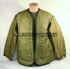 US Military Cold Weather M65 Field Jacket Coat Liner Quilted M,L,XL EXC