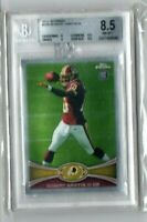 2012 Topps Chrome #200 Robert Griffin III Rookie Redskins RC BGS NM-MT+ POP 1