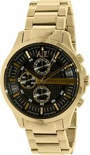 Armani Exchange Men's AX2137 Chronograph Gold-Tone Stainless steel Watch