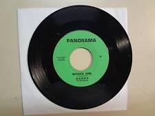 "DANNY AND THE SENIORS: Wicked Girl- Oh Devil-U.S. 7"" Vinyl 1966 Panorama 26,WA."