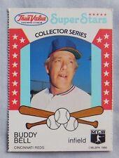 1986 True Value Super Stars Buddy Bell Texas Rangers Baseball Card
