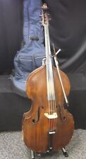 3/4 Upright Double Bass, w/ Soft Case, Stand and Bow - Italian Made, late 1800s