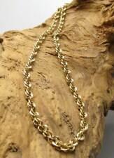 Wert 590,- Gold Kette aus 585 / 14 KT Gelbgold Kordelkette