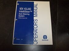New Holland IntelliSteer Auto Steering System Version 3.6 Owner Operator Manual