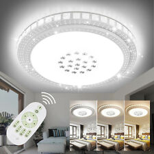 LUXUS Kristall LED Deckenleuchte Deckenlampe Sternhimmel Dimmbar Wohnzimmerlampe