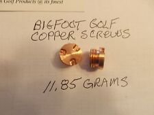 Nike Method Converge Putter Weight Qty 2-11.85g Copper Screws w/install Wrench