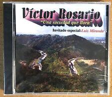 """VICTOR ROSARIO Y LUIS MIRANDA - """" UNA SOCIEDAD QUE LLORA"""" - CD"""