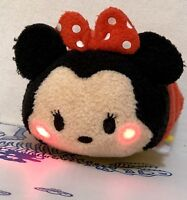 """Disney Tsum Tsum Minnie Mouse Lights and Sounds Plush Light Up Toy Doll 5"""" Mini"""