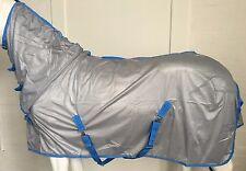 AXIOM SILVER/SKYBLUE SOFT FLY SHEET MESH COMBO - 6' 3
