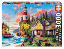 Lighthouse near the Ocean 3000 pieces JIGSAW EDUCA NEW SEALED free shipping