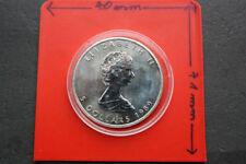 1 oz. Silbermünzen in Maple Leaf